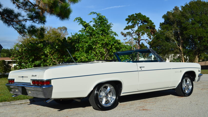 1966 Chevrolet Impala Convertible 396/325 HP, Automatic presented as lot J160 at Kissimmee, FL 2014 - image2
