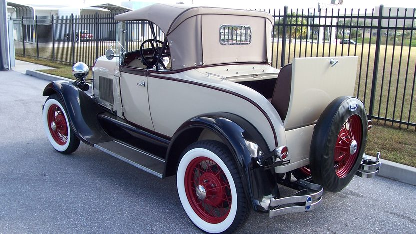 1929 Ford Model A Roadster presented as lot K116 at Kissimmee, FL 2014 - image2