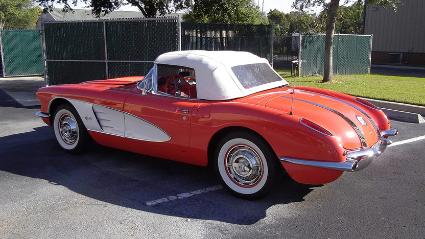 1958 Chevrolet Corvette Convertible 283/230 HP, 4-Speed presented as lot K214 at Kissimmee, FL 2014 - image6