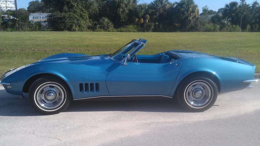 1968 Chevrolet Corvette Convertible 327/350 HP, 4-Speed presented as lot K216 at Kissimmee, FL 2014 - image2