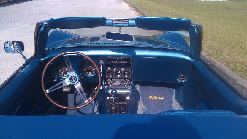 1968 Chevrolet Corvette Convertible 327/350 HP, 4-Speed presented as lot K216 at Kissimmee, FL 2014 - image4