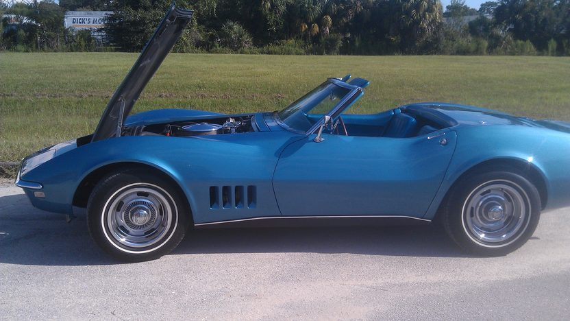 1968 Chevrolet Corvette Convertible 327/350 HP, 4-Speed presented as lot K216 at Kissimmee, FL 2014 - image7