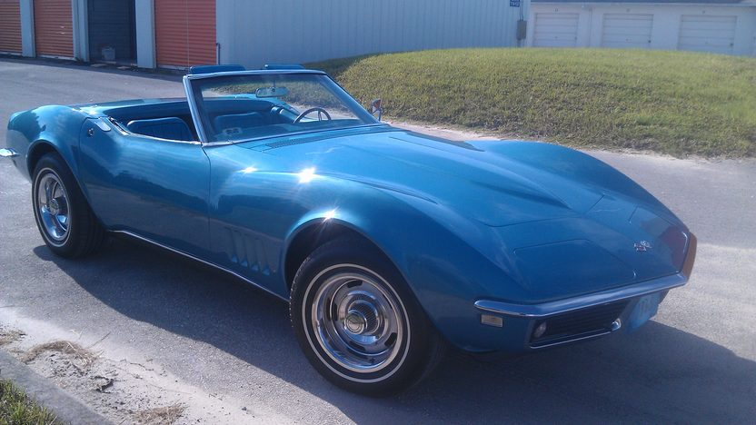 1968 Chevrolet Corvette Convertible 327/350 HP, 4-Speed presented as lot K216 at Kissimmee, FL 2014 - image8