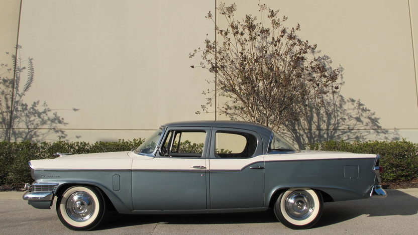 1957 Studebaker Champion presented as lot L126 at Kissimmee, FL 2014 - image2