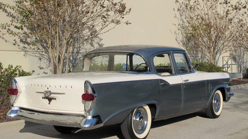 1957 Studebaker Champion presented as lot L126 at Kissimmee, FL 2014 - image3