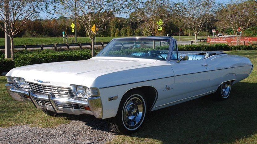 1968 Chevrolet Impala Ss Convertible Mecum Kissimmee
