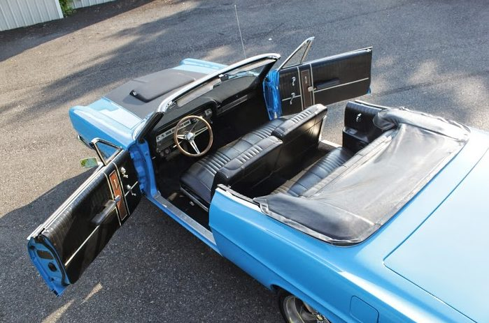 1967 Ford Galaxie 500 Convertible 289/300 HP, Automatic presented as lot G201 at Kissimmee, FL 2014 - image6