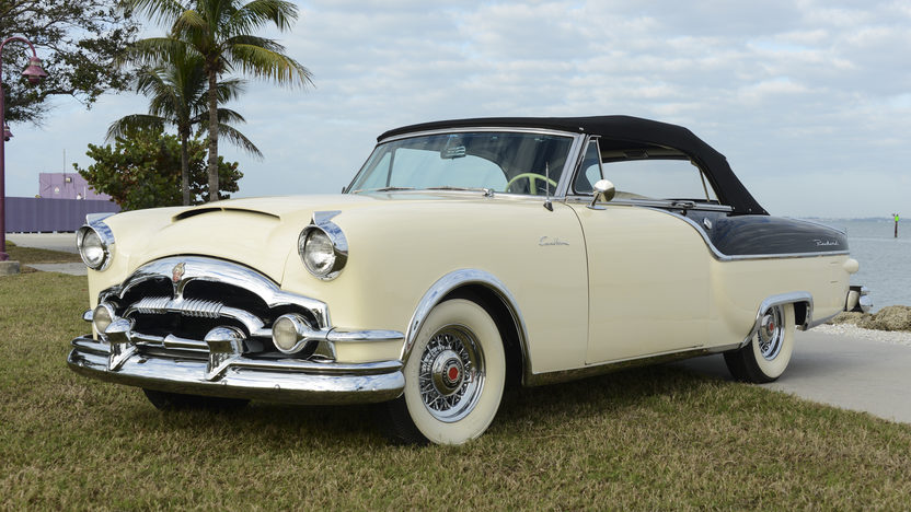 1954 Packard Caribbean Convertible presented as lot W46 at Kissimmee, FL 2014 - image2