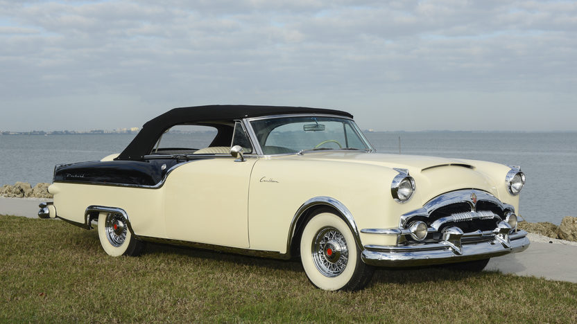 1954 Packard Caribbean Convertible presented as lot W46 at Kissimmee, FL 2014 - image4