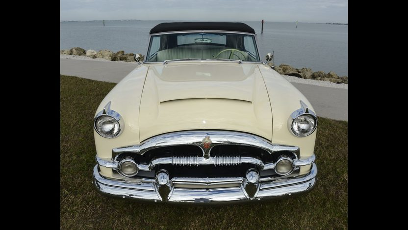 1954 Packard Caribbean Convertible presented as lot W46 at Kissimmee, FL 2014 - image5