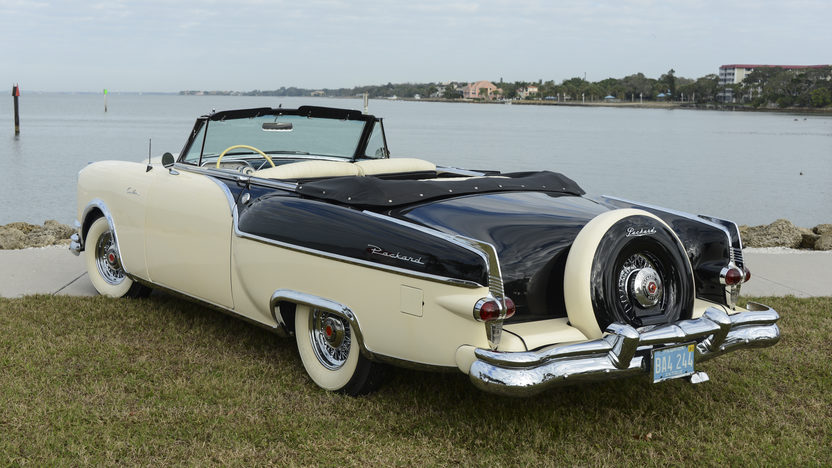 1954 Packard Caribbean Convertible presented as lot W46 at Kissimmee, FL 2014 - image6