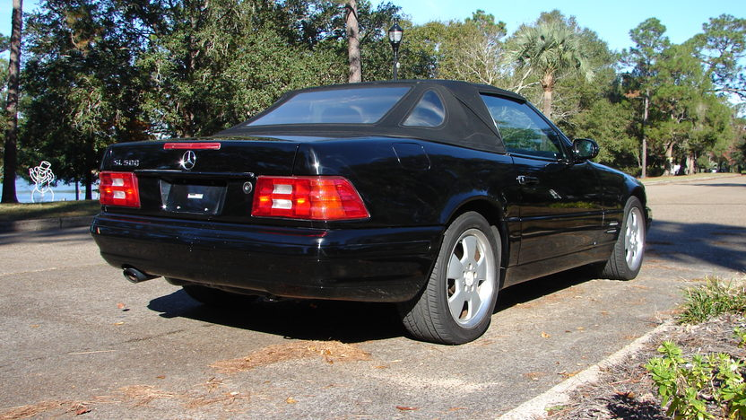 1999 Mercedes-Benz SL500 Convertible presented as lot W57 at Kissimmee, FL 2014 - image3