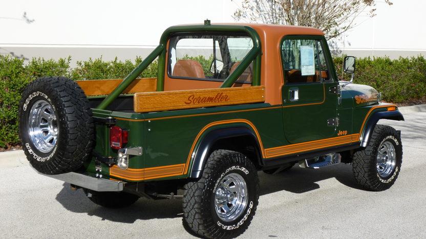 1983 Jeep CJ-8 Scrambler presented as lot W179 at Kissimmee, FL 2014 - image2