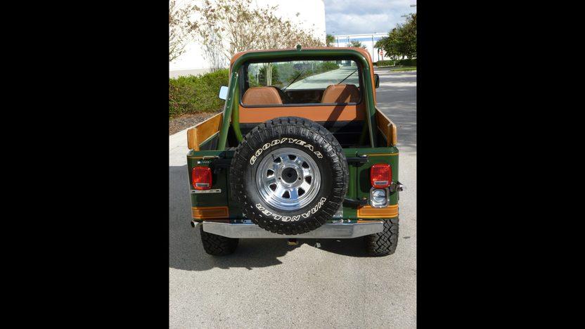 1983 Jeep CJ-8 Scrambler presented as lot W179 at Kissimmee, FL 2014 - image3