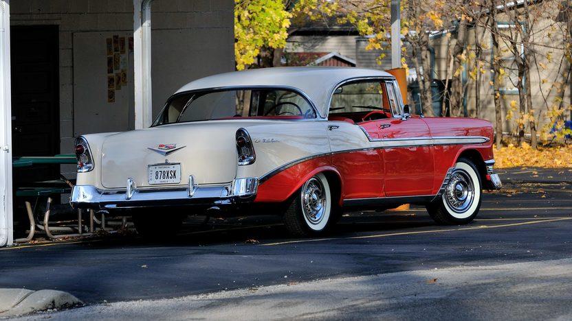 1956 chevrolet bel air 4 door hardtop mecum kissimmee for 1956 chevrolet 4 door hardtop