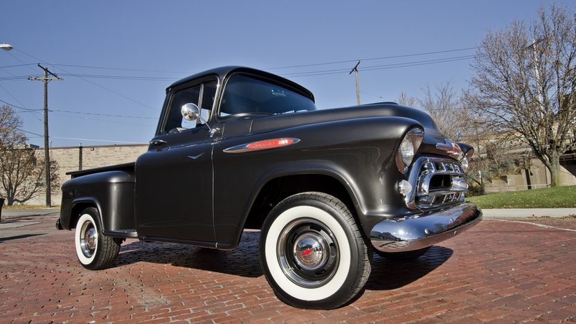 1957 Chevrolet 3100 Pickup 283 CI, 4-Speed presented as lot T220 at Kissimmee, FL 2014 - image11