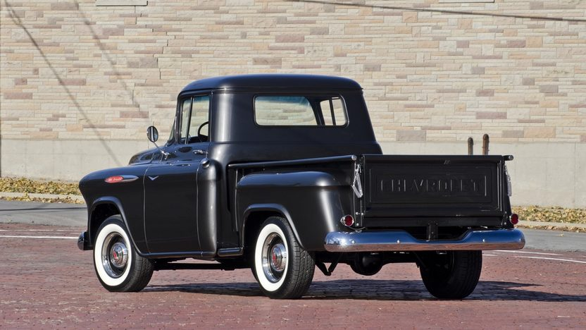 1957 Chevrolet 3100 Pickup 283 CI, 4-Speed presented as lot T220 at Kissimmee, FL 2014 - image2