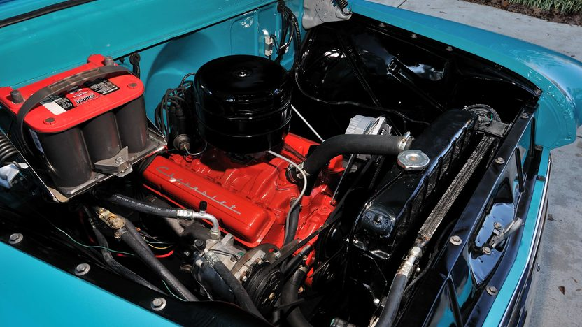 1957 Chevrolet 3100 Deluxe Pickup 283 CI, 3-Speed presented as lot T267 at Kissimmee, FL 2014 - image7