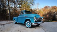 1957 Chevrolet 3100 Deluxe Pickup 283 CI, 3-Speed presented as lot T267 at Kissimmee, FL 2014 - thumbail image12