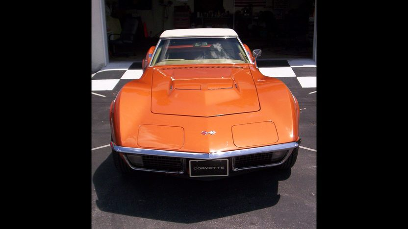 1971 Chevrolet Corvette Convertible 454/365 HP, Automatic presented as lot F309 at Kissimmee, FL 2014 - image9