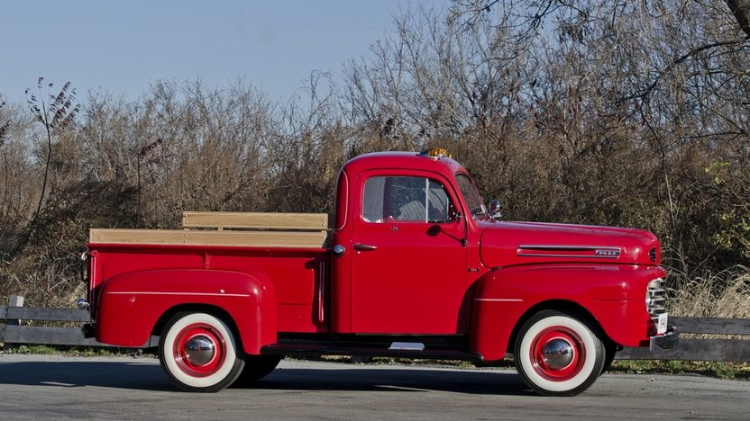 1948 Ford F1 Pickup 239 CI, 5-Speed presented as lot F230 at Kissimmee, FL 2014 - image10
