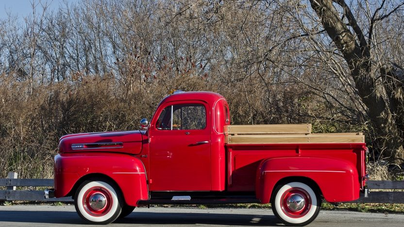 1948 Ford F1 Pickup 239 CI, 5-Speed presented as lot F230 at Kissimmee, FL 2014 - image3