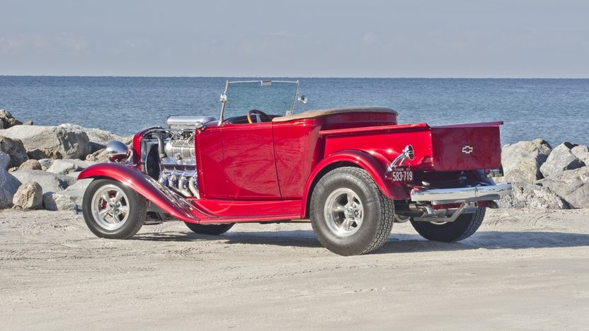 1932 Chevrolet Roadster Pickup Street Rod 1 of 10 Built by Experi-Metal Inc. presented as lot F255 at Kissimmee, FL 2014 - image2