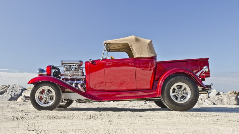 1932 Chevrolet Roadster Pickup Street Rod 1 of 10 Built by Experi-Metal Inc. presented as lot F255 at Kissimmee, FL 2014 - image3