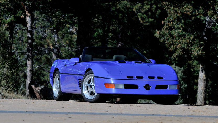 1991 Chevrolet Corvette Callaway Speedster Series 500 Twin Turbo, One Owner presented as lot F260 at Kissimmee, FL 2014 - image12