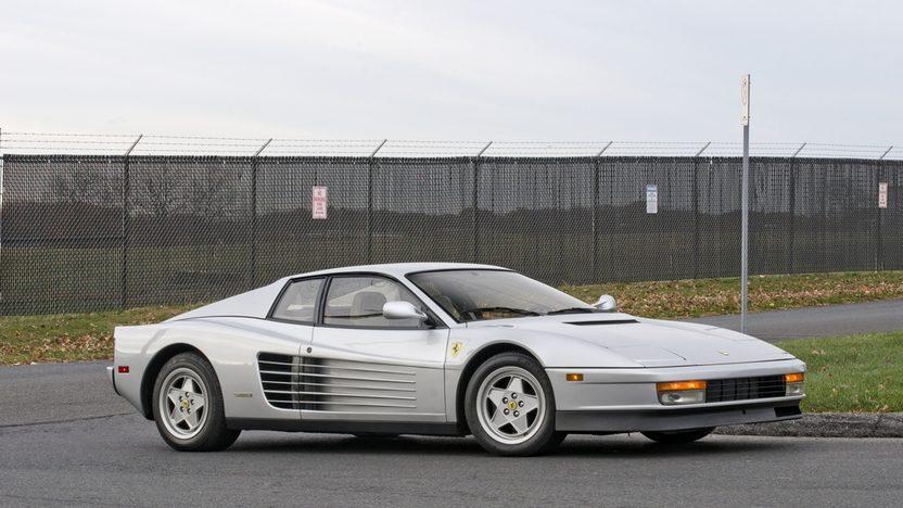 1989 Ferrari Testarossa Don Johnson's Personal Car presented as lot F286 at Kissimmee, FL 2014 - image12