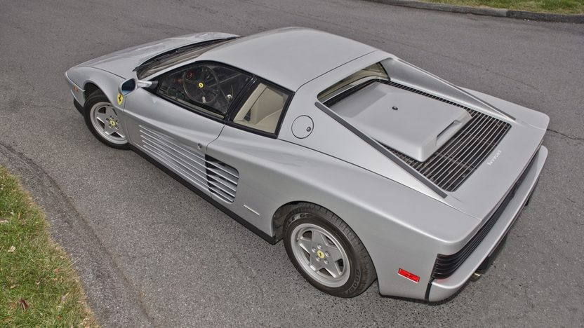1989 Ferrari Testarossa Don Johnson's Personal Car presented as lot F286 at Kissimmee, FL 2014 - image2
