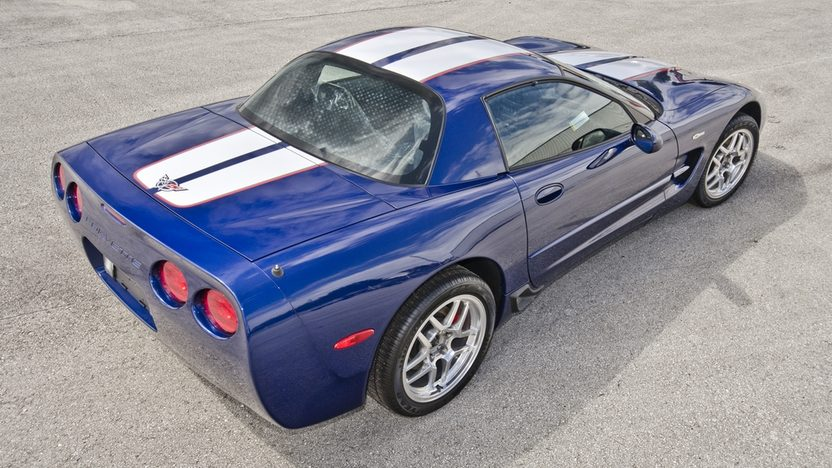 2004 Chevrolet Corvette Z06 Commemorative Edition 2 Miles, Window Sticker Intact presented as lot S122 at Kissimmee, FL 2014 - image2