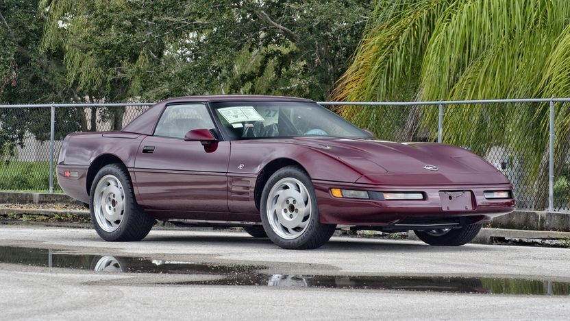 1993 Chevrolet Corvette 40th Anniversary Convertible, 6-Speed, 16 Miles presented as lot S120 at Kissimmee, FL 2014 - image12