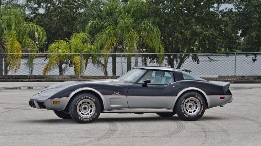 1978 Chevrolet Corvette Pace Car Edition L82, 4-Speed, 7 Miles presented as lot S121 at Kissimmee, FL 2014 - image3