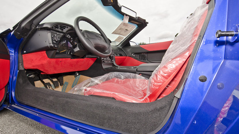 1996 Chevrolet Corvette Grand Sport Convertible 6-Speed, Red Interior, 11 Miles presented as lot S117 at Kissimmee, FL 2014 - image4