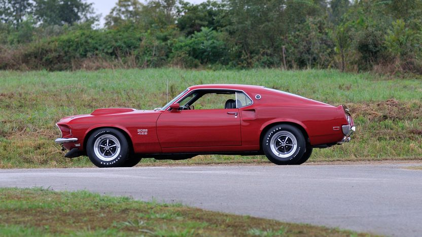 1969 Ford Mustang Boss 429 Fastback KK #1696, 429/375 HP, 4-Speed presented as lot S141 at Kissimmee, FL 2014 - image2
