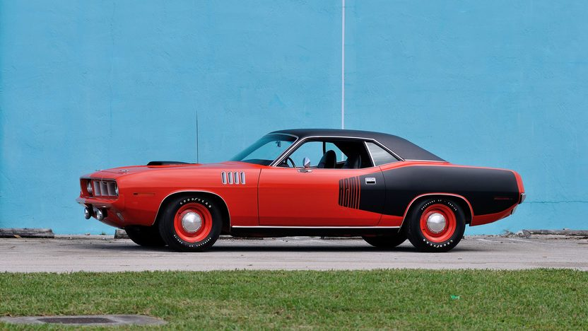 1971 Plymouth Hemi Cuda 426 CI, 4-Speed, Unrestored presented as lot S143 at Kissimmee, FL 2014 - image2