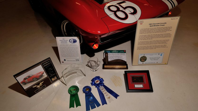 1963 Chevrolet Corvette Z06 Dick Lang Race Car 2013 NCRS American Heritage Award presented as lot S148 at Kissimmee, FL 2014 - image12