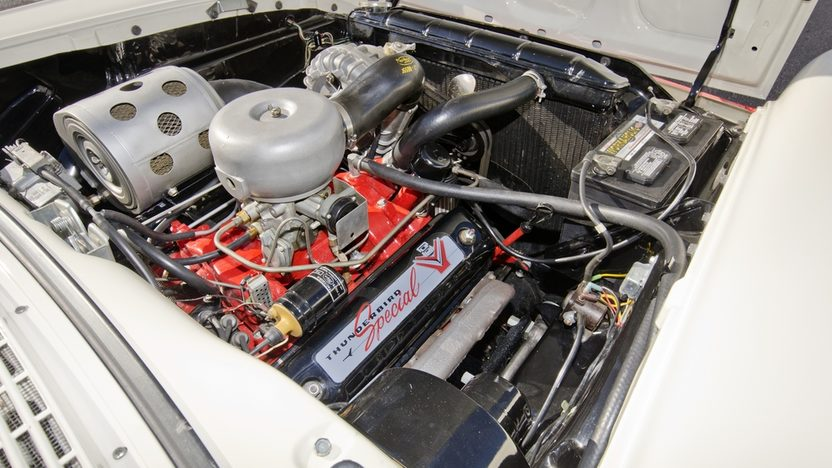1957 Ford Fairlane 500 F-Code Skyliner Supercharged 312 CI, 3-Speed presented as lot S159 at Kissimmee, FL 2014 - image5