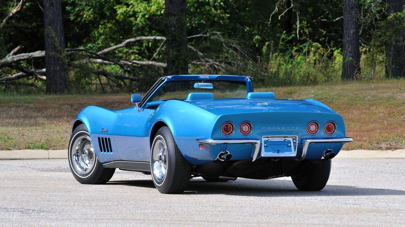 1969 Chevrolet Corvette L88 Convertible 427/430 HP, 4-Speed, Tank Sticker presented as lot S163 at Kissimmee, FL 2014 - image3