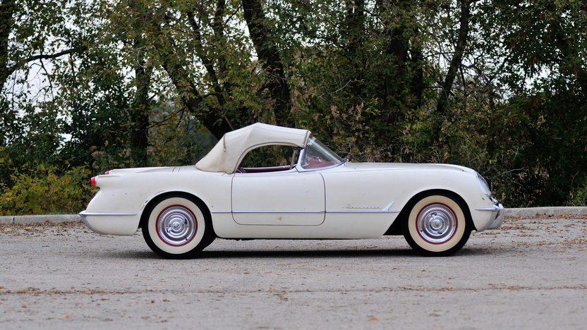 1954 Chevrolet Corvette Roadster The 'Entombed' Corvette presented as lot S202.1 at Kissimmee, FL 2014 - image2