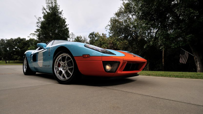 2006 Ford GT Heritage Edition presented as lot S196 at Kissimmee, FL 2014 - image12