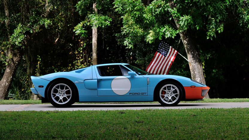 2006 Ford GT Heritage Edition presented as lot S196 at Kissimmee, FL 2014 - image2