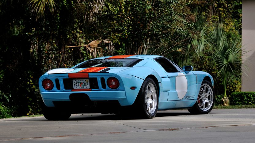 2006 Ford GT Heritage Edition presented as lot S196 at Kissimmee, FL 2014 - image3