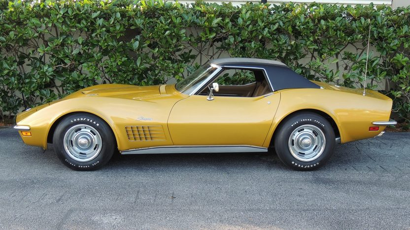 1971 Chevrolet Corvette LS6 Convertible 454/425 HP, Automatic presented as lot F211 at Kissimmee, FL 2014 - image2