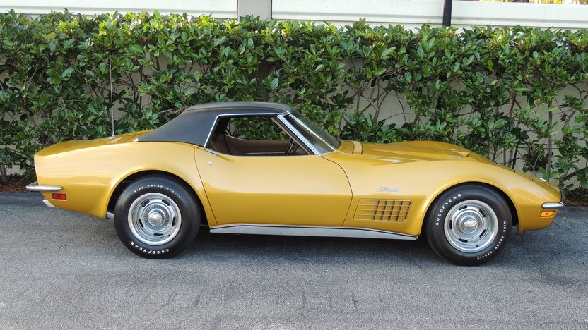 1971 Chevrolet Corvette LS6 Convertible 454/425 HP, Automatic presented as lot F211 at Kissimmee, FL 2014 - image8