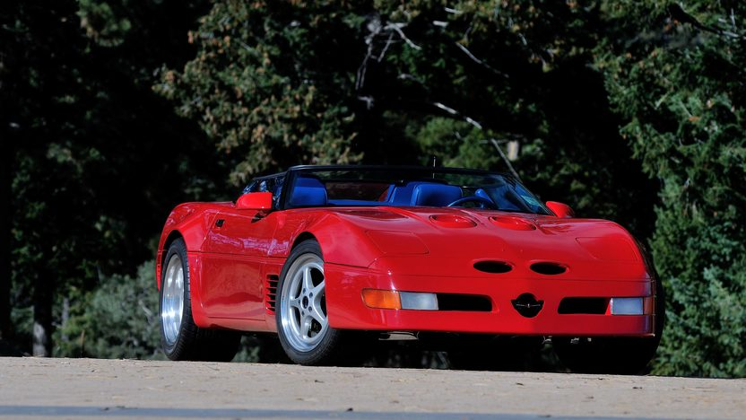1990 Chevrolet Corvette ZR1 Callaway Speedster 1 of 2 Series II Super Speedsters presented as lot F257 at Kissimmee, FL 2014 - image12