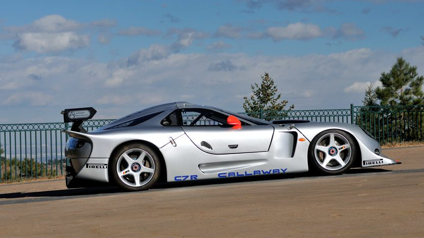 1997 Callaway C7R GT1 1 of 2 CR7s Built in 1997 presented as lot F263 at Kissimmee, FL 2014 - image2
