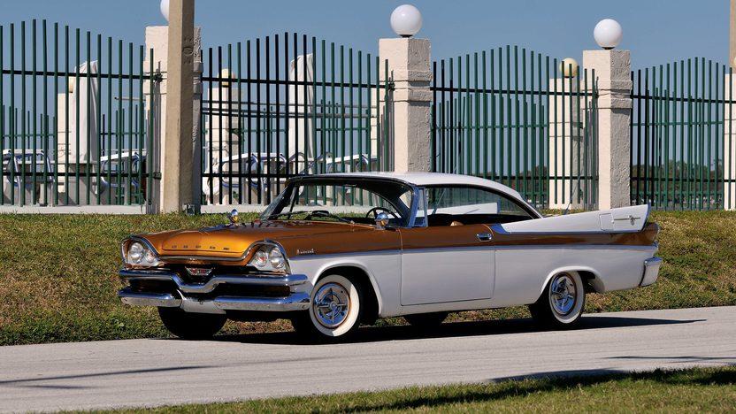 1957 dodge coronet d 500 hardtop mecum kissimmee 2014 for 1957 dodge 2 door hardtop