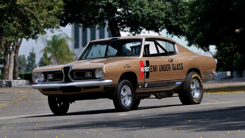 1967 Plymouth Barracuda Hurst Hemi Under Glass presented as lot S200 at Kissimmee, FL 2014 - image12